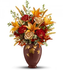 Falling Leaves Vase Bouquet ** Acacia Exclusive ** in ...