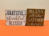 Fall/Thanksgiving Wood Signs Fall Product