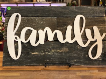 Family Barn-Wood Sign Custom Gift Item