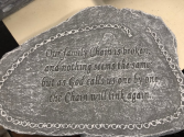 Family Chain plaque
