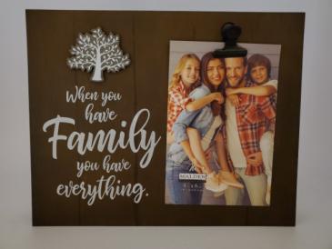 Family Frame Giftware
