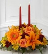 Family Gathering Bouquet Thanksgiving Centerpiece