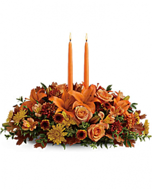 Family Gathering Centerpiece  in Mcdonough, GA | Parade of Flowers