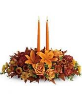 Family Gathering Centerpiece Thanksgiving