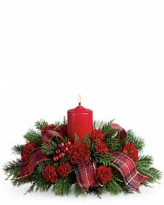 Family Holiday Celebration Christmas Centerpiece