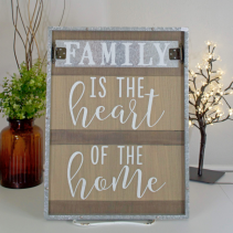 "home sign decor 24""X18 Decor"