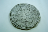 Family Love and Memories Memorial Stone