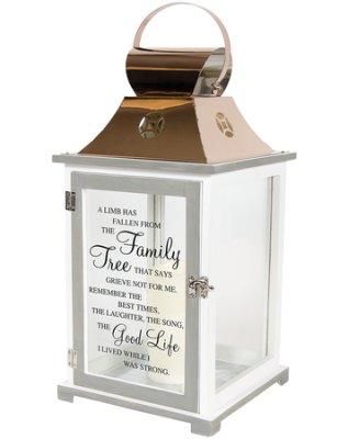 Family Tree Inspirational Lantern