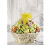 Fanciful Fruit Basket Fresh Seasonal Assorted Fruit