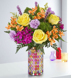 Fanciful Medley™ Bouquet  in Valley City, OH | HILL HAVEN FLORIST & GREENHOUSE