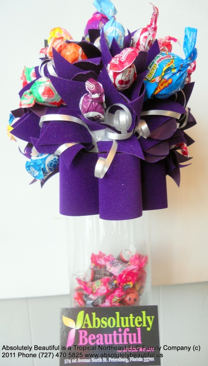 Fancy Candy Bouquet Candy Edible Arrangement in Saint Petersburg, FL ...