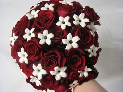 FANCY IN RED  Bridal Bouquet