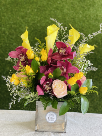 Fancy Orchid Arrangement