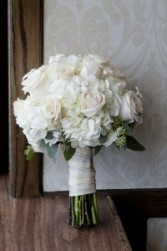 Fantastic All White  Bride's Bouquet  Wedding flowers