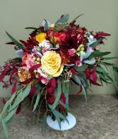 Fantastic Fall Wedding Bouquet Hand tied bouquet perfect for a fall farm wedding