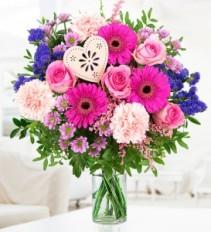 Fantastic Fushia Arrangement Vase Arrangement