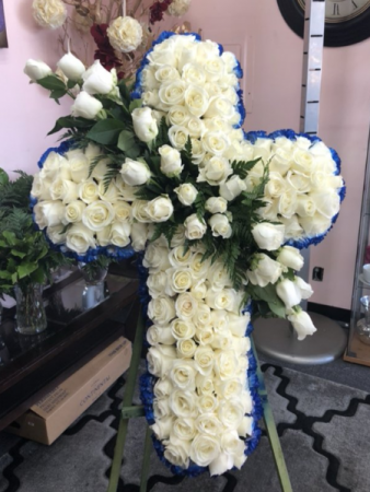 Farewell Angel HUGE Funeral CROSS