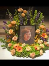 Farewell Wreath Memorial Wreath