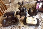 Farm Animal Soap Dish & Farm Animal Statue