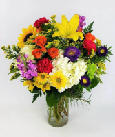 Farm Fresh Flower Arrangement