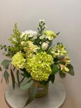 Farm Fresh Green Vase
