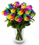 TyeDye Rainbow Roses Valentines Special