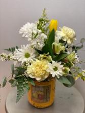 Farm Fresh Yellow Vase