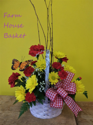 Farm House Basket   in Presque Isle, ME   COOK FLORIST, INC.