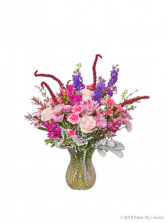 Farm House Bounty Hobnail vase