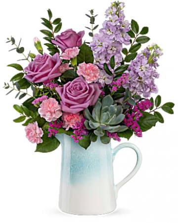 Farm House Chic Vase Arrangement