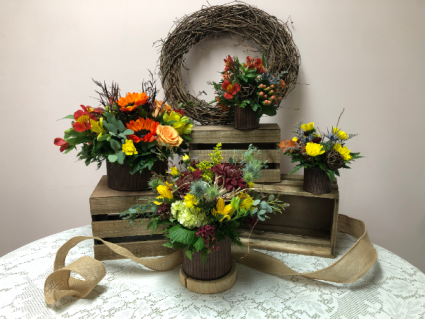 Farm to Table Arrangements Fall Arrangement