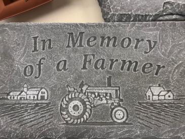Farmer plaque