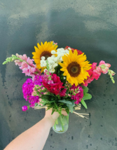 Farmer's Bunch Vase Arrangement