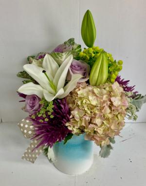 Farmhouse Bouquet  in Liberal, KS | THE FLOWER BASKET