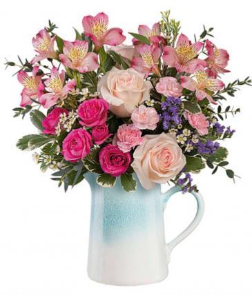 Fabulous Farmhouse Bouquet  Vase