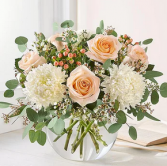Farmhouse Fresh Mixed Floral Arrangement