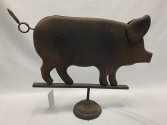 Farmhouse Metal Pig