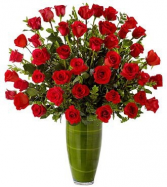 FASCINATING ROSE 36 RED ROSES ARRANGEMENT