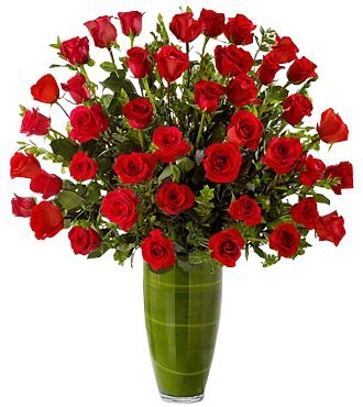 FASCINATING ROSE BOUQUET 36 RED ROSES