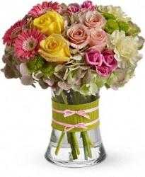 In Vogue Blooms Vased Bouquet