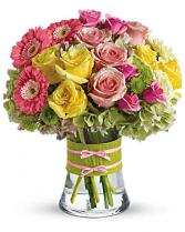 Fashionista Blooms vase