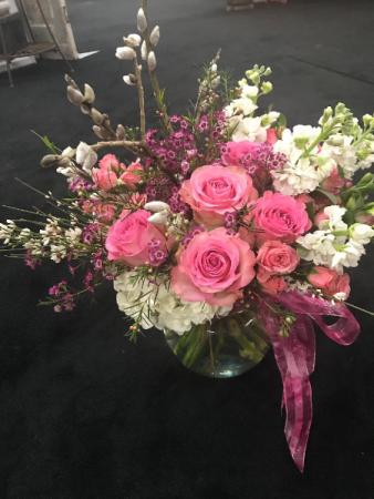 Fashionista Pink Vase