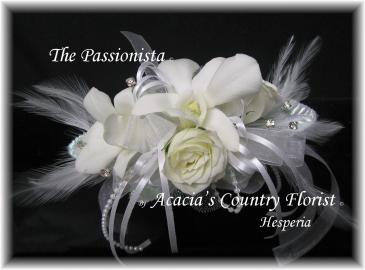 The Passionista Wrist Corsage