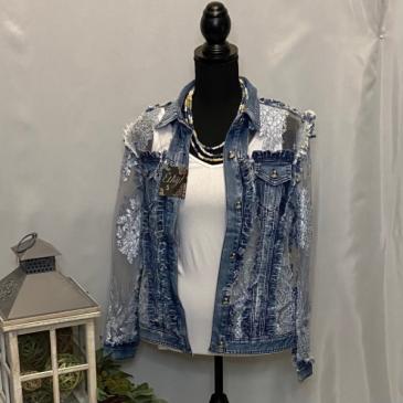 Fast Lane Lace Jacket Ethyl