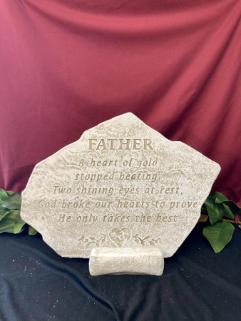 Father - A Heart of Gold Stone