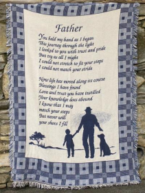 A Father's Blessings Blanket