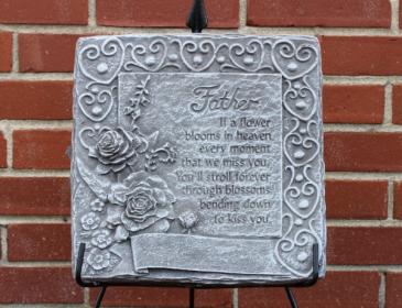 Father Plaque