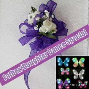Lewis Center Father/Daughter Dance Special 1/26/19 Corsage in Hesperia, CA | FAIRY TALES FLOWERS & GIFTS
