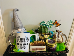 Father's day Basket Basket Arrangement in Airdrie, AB | Flower Whispers
