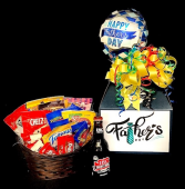 Father's Day Candy Bouquet Root Beer & Snacks in Plainview, Texas | Kan Del's Floral, Candles & Gifts